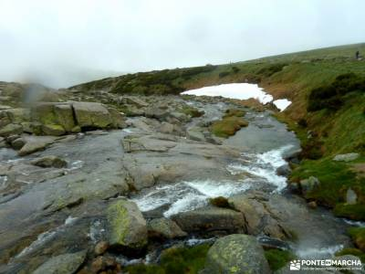 Laguna Grande-Sierra de Gredos; las barrancas salto del gitano parque nacional guadarrama hoces del